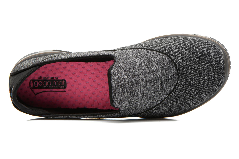 Chaussures de sport Skechers Go Flex 14010 Noir vue gauche