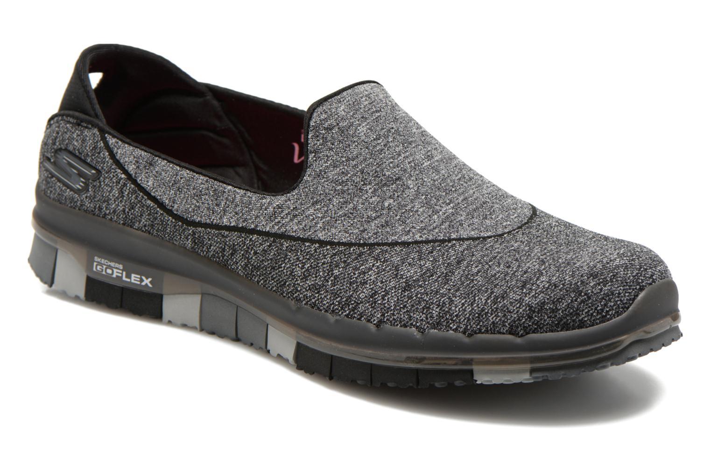 Chaussures de sport Skechers Go Flex 14010 Noir vue détail/paire