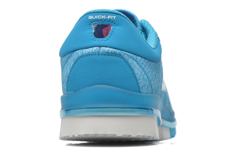 Chaussures de sport Skechers Go Flex - Ability 14011 Bleu vue droite