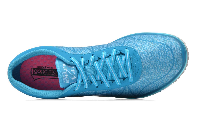 Chaussures de sport Skechers Go Flex - Ability 14011 Bleu vue gauche