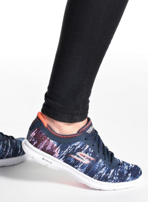 Chaussures de sport Skechers Go Step 14200 Noir vue bas / vue portée sac