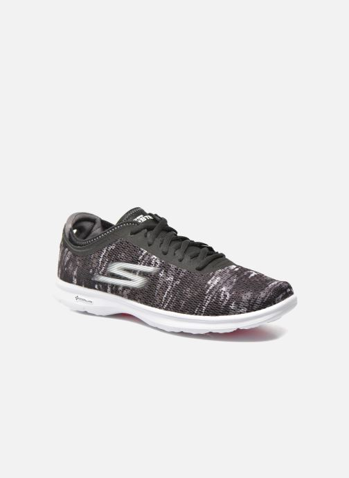 Sport shoes Skechers Go Step 14200 Black detailed view/ Pair view