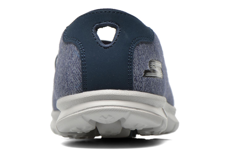 Ballerines Skechers Go Step - Pose 14209 Bleu vue droite
