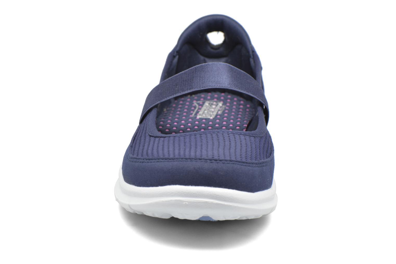 Ballerines Skechers Go Step - Original 14213 Bleu vue portées chaussures