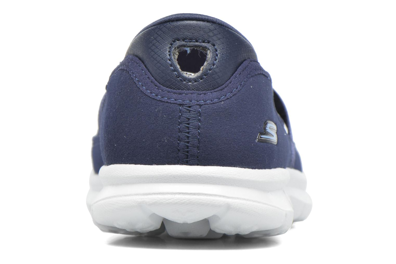 Ballerines Skechers Go Step - Original 14213 Bleu vue droite