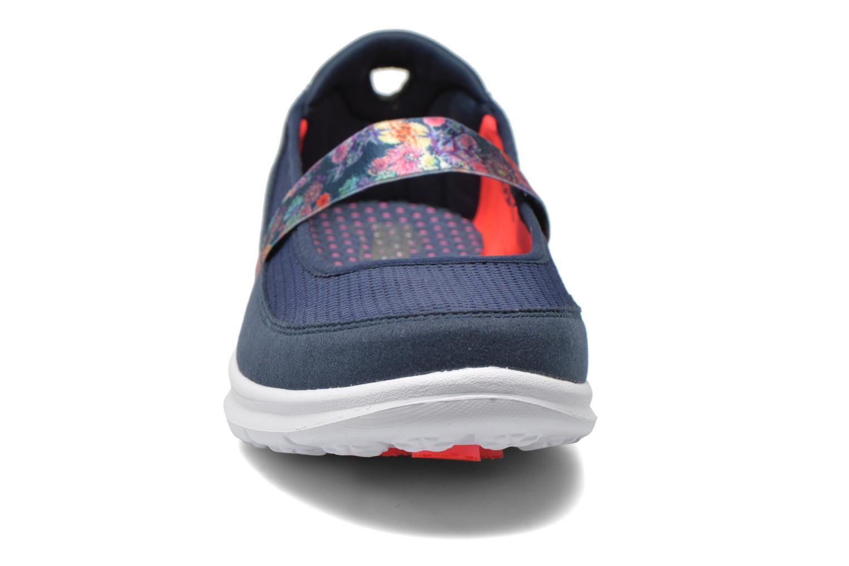 Ballerines Skechers Go Step - Bloom 14214 Bleu vue portées chaussures