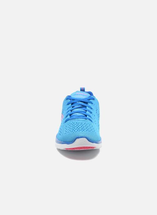 Chaussures de sport Skechers Valeris-Backstage Pass 12221 Bleu vue portées chaussures
