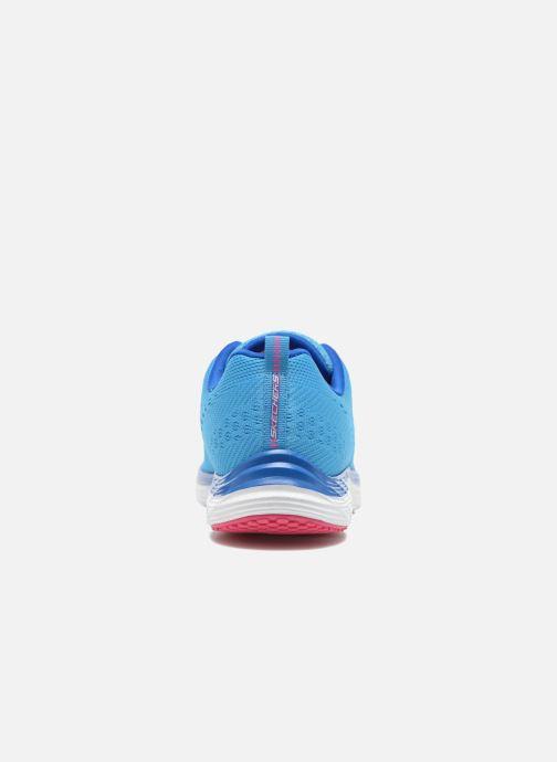 Zapatillas de deporte Skechers Valeris-Backstage Pass 12221 Azul vista lateral derecha
