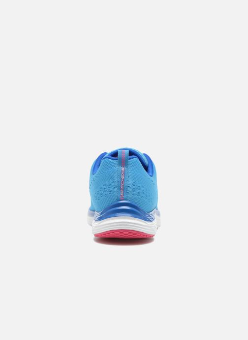 Chaussures de sport Skechers Valeris-Backstage Pass 12221 Bleu vue droite