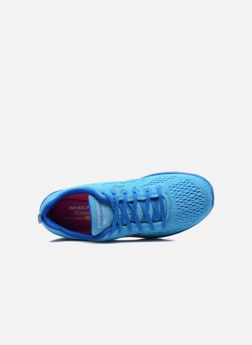 Chaussures de sport Skechers Valeris-Backstage Pass 12221 Bleu vue gauche