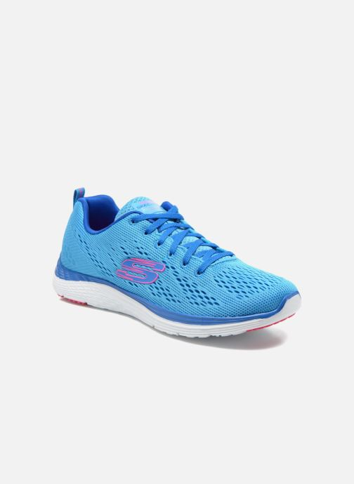 Chaussures de sport Skechers Valeris-Backstage Pass 12221 Bleu vue détail/paire