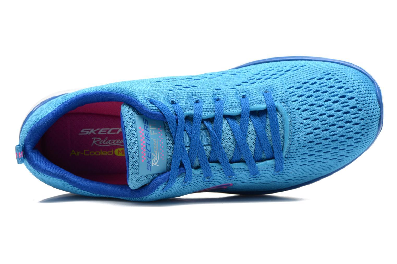 Zapatillas de deporte Skechers Valeris-Backstage Pass 12221 Azul vista lateral izquierda