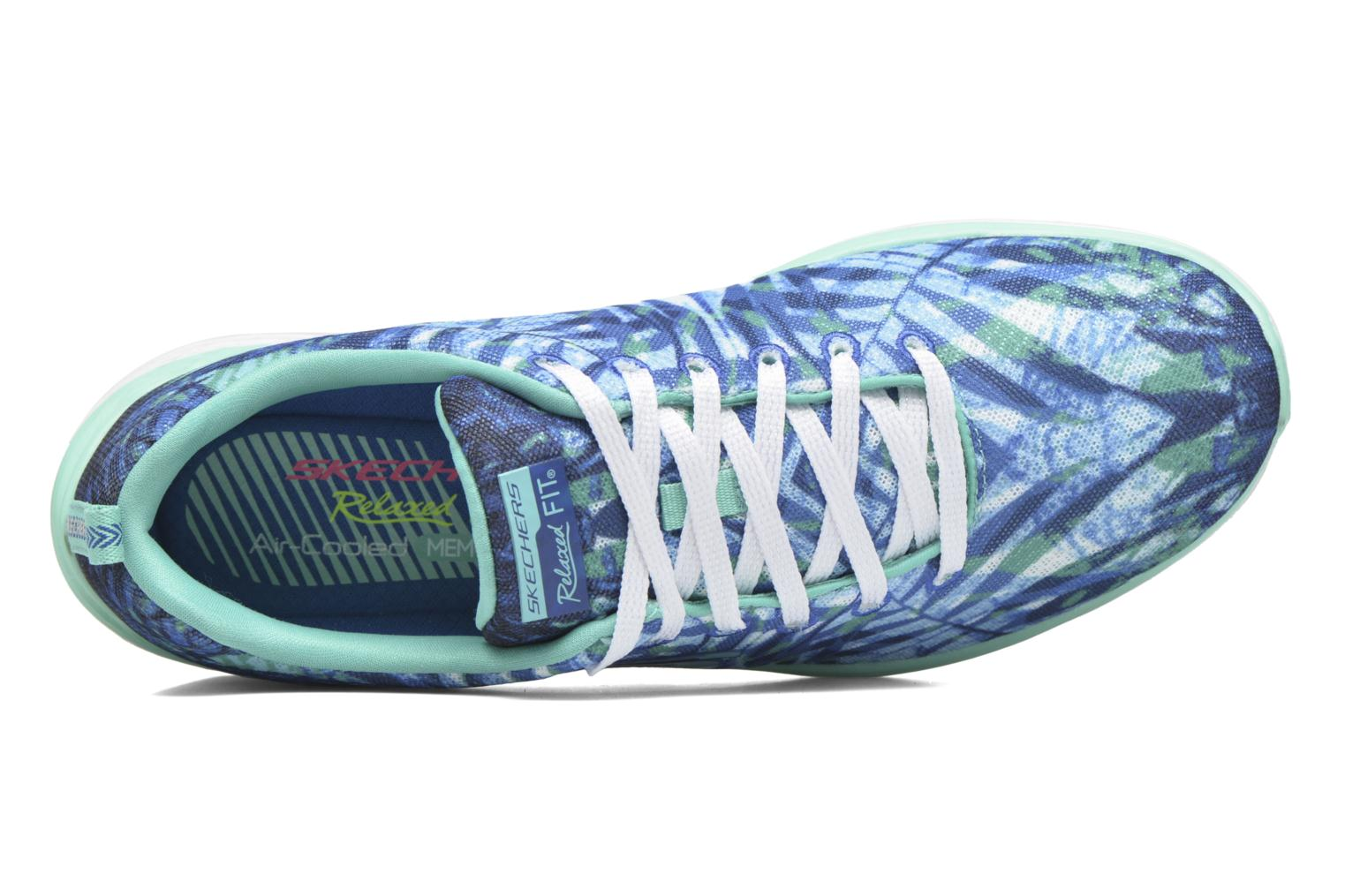Sport shoes Skechers Valeris - Mai Tai 12222 Blue view from the left