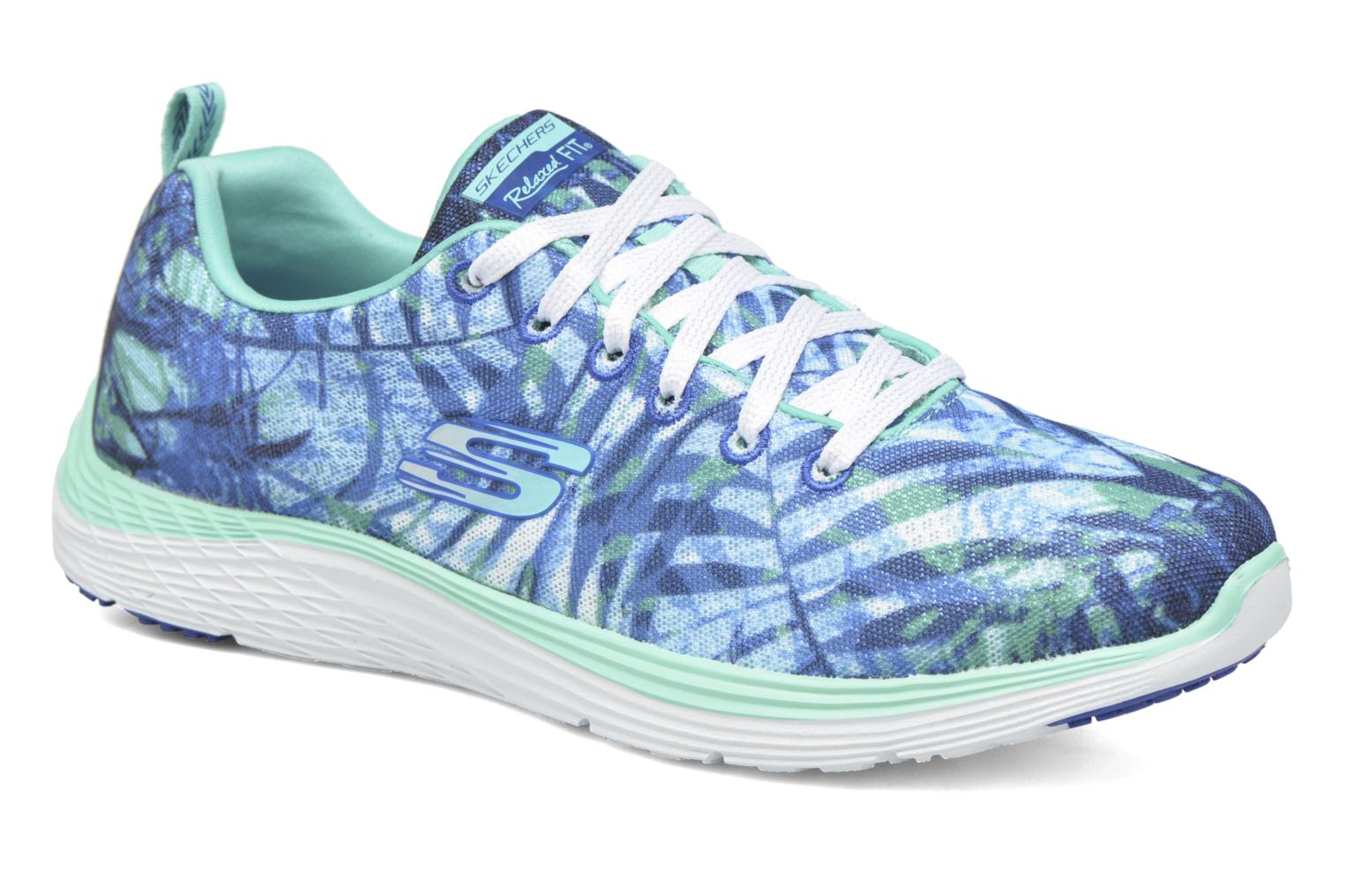 Sport shoes Skechers Valeris - Mai Tai 12222 Blue detailed view/ Pair view