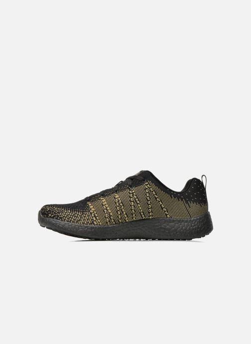 Sport shoes Skechers Burst - First Glimpse 12438 Black front view
