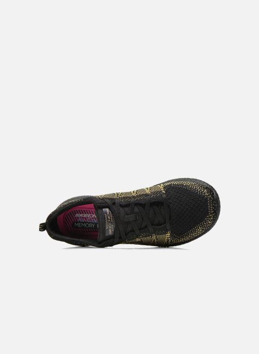 Chaussures de sport Skechers Burst - First Glimpse 12438 Noir vue gauche