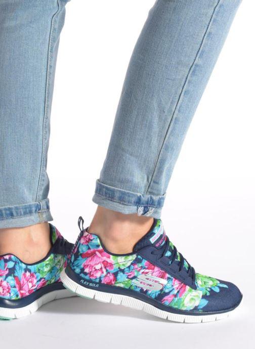 Sportschoenen Skechers Flex Appeal- Wildflowers 12448 Groen onder