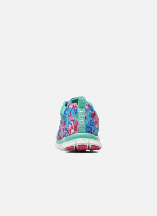 Zapatillas de deporte Skechers Flex Appeal- Wildflowers 12448 Verde vista lateral derecha