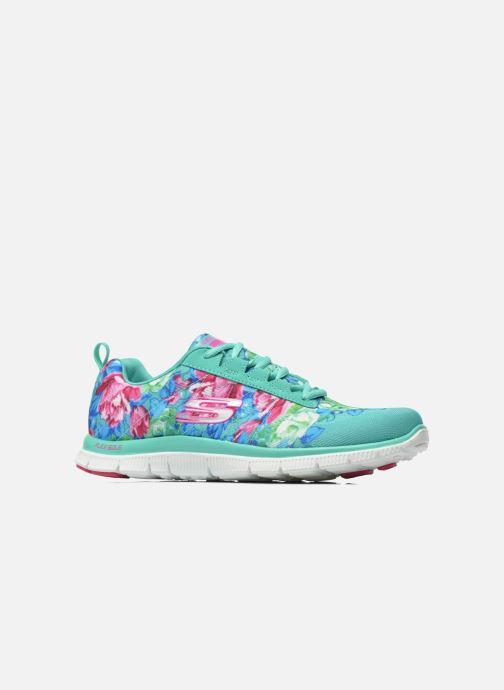 Sportschoenen Skechers Flex Appeal- Wildflowers 12448 Groen achterkant