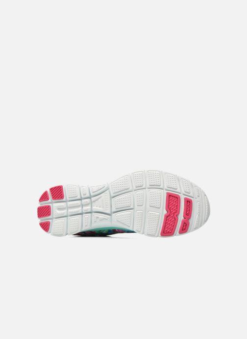 Zapatillas de deporte Skechers Flex Appeal- Wildflowers 12448 Verde vista de arriba