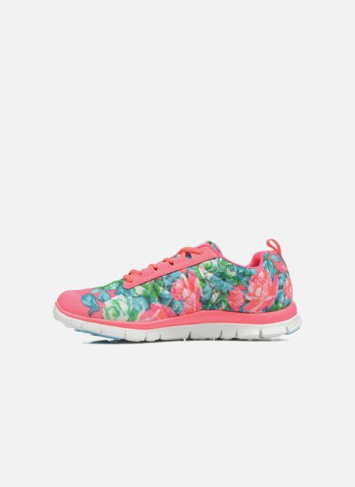 Zapatillas de deporte Skechers Flex Appeal- Wildflowers 12448 Rosa vista de frente