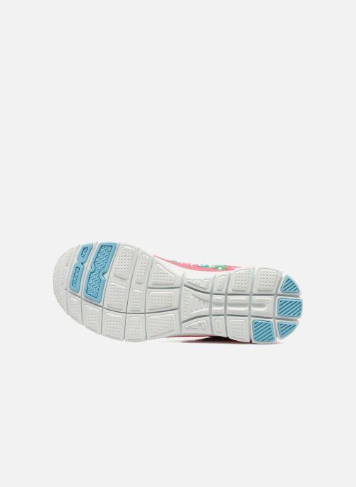 Zapatillas de deporte Skechers Flex Appeal- Wildflowers 12448 Rosa vista de arriba