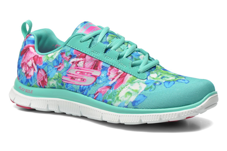 Skechers Flex Appeal- Wildflowers 12448 (Vert) - Chaussures de sport en Más cómodo Chaussures casual sauvages