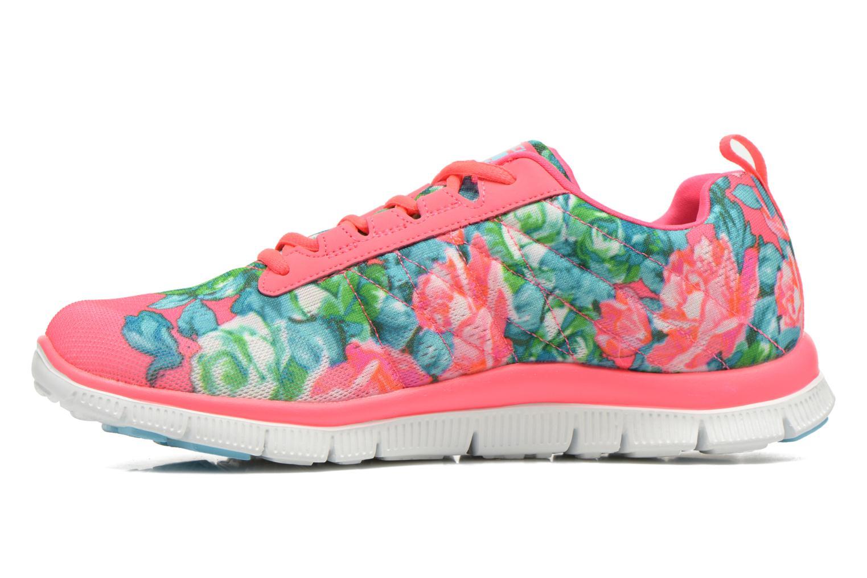 Chaussures de sport Skechers Flex Appeal- Wildflowers 12448 Rose vue face