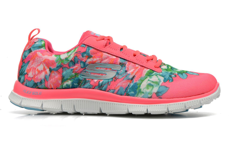 Chaussures de sport Skechers Flex Appeal- Wildflowers 12448 Rose vue derrière