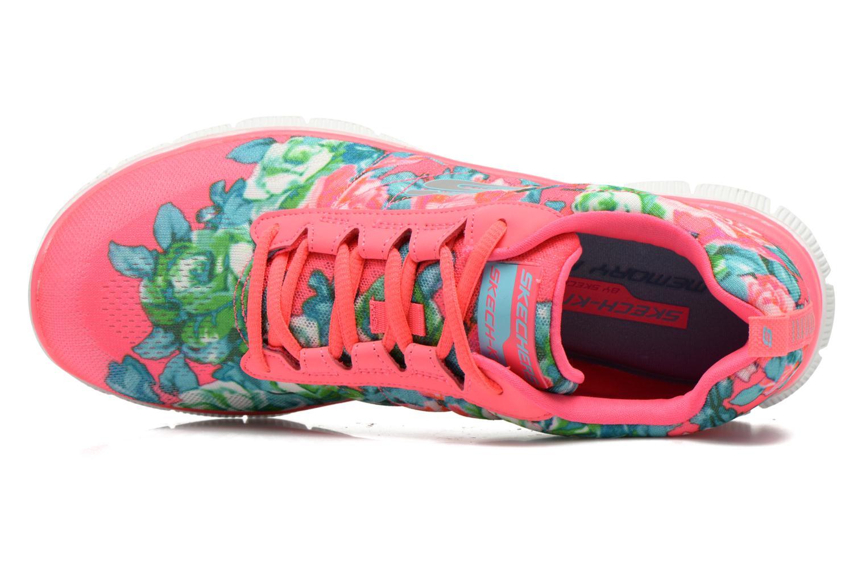 Chaussures de sport Skechers Flex Appeal- Wildflowers 12448 Rose vue gauche