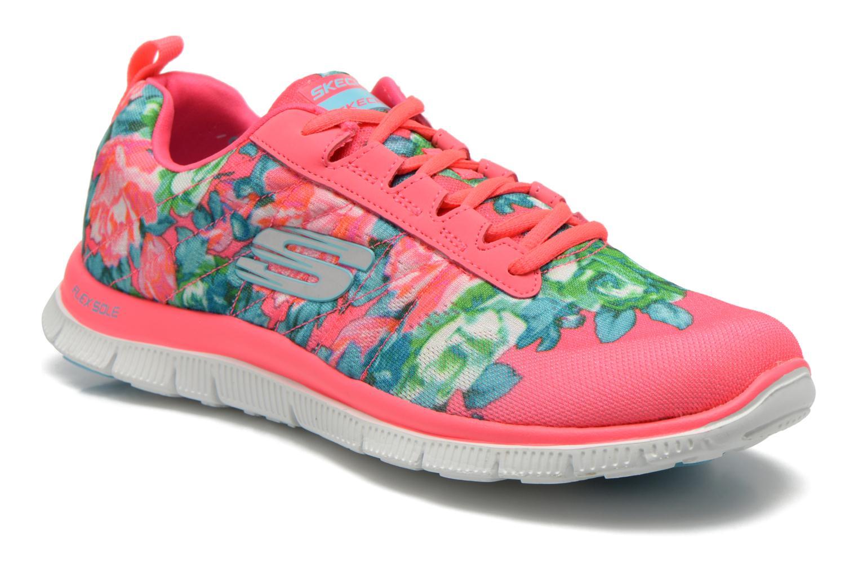 12448 Appeal Hot Flex Pink Wildflowers Skechers w0gan