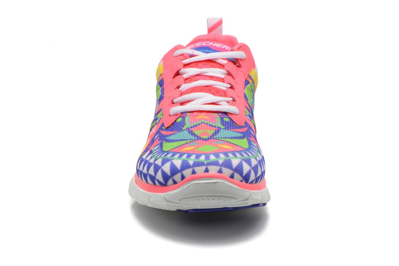 Chaussures de sport Skechers Flex Appeal - Arrowhead 12449 Rose vue portées chaussures