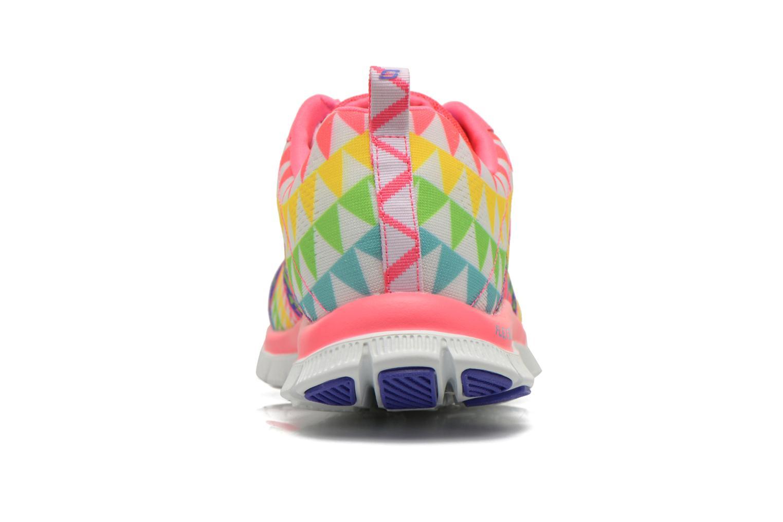 Chaussures de sport Skechers Flex Appeal - Arrowhead 12449 Rose vue droite