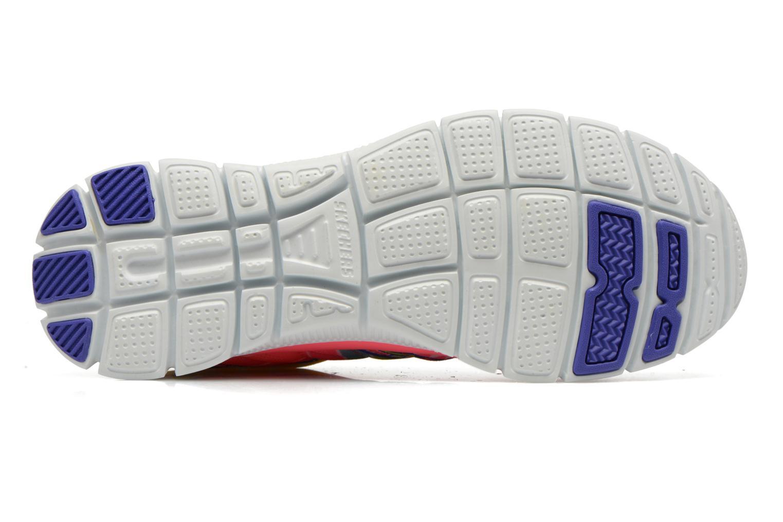 Chaussures de sport Skechers Flex Appeal - Arrowhead 12449 Rose vue haut