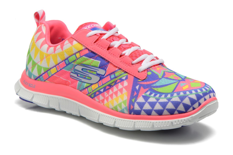 Chaussures de sport Skechers Flex Appeal - Arrowhead 12449 Rose vue détail/paire