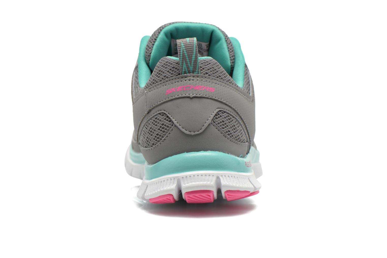 Chaussures de sport Skechers Flex Appeal 12452 Gris vue droite
