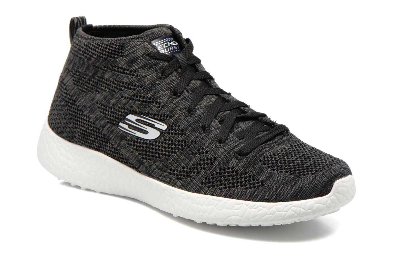 Chaussures de sport Skechers Burst- Divergent 12730 Noir vue détail/paire