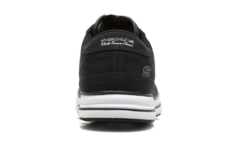 Baskets Skechers Arcade- Chat Mf 51014 Noir vue droite