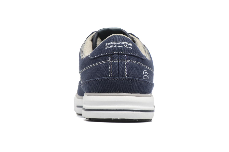Baskets Skechers Arcade- Chat Mf 51014 Bleu vue droite