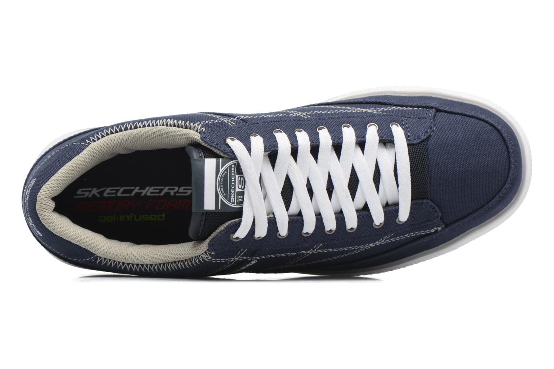 Baskets Skechers Arcade- Chat Mf 51014 Bleu vue gauche