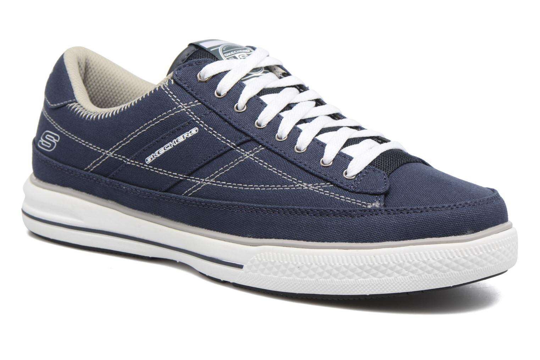 Baskets Skechers Arcade- Chat Mf 51014 Bleu vue détail/paire