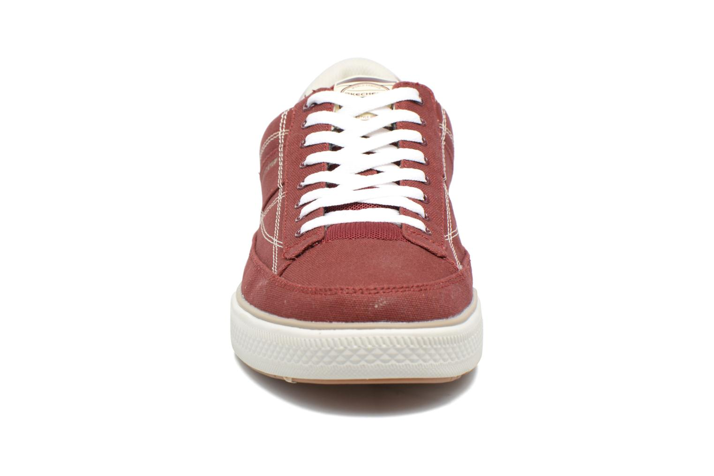 Baskets Skechers Arcade- Chat Mf 51014 Rouge vue portées chaussures