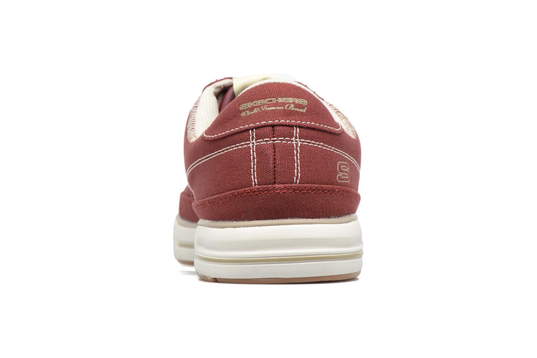 Baskets Skechers Arcade- Chat Mf 51014 Rouge vue droite