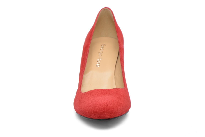 Escarpins Georgia Rose Selina Rouge vue portées chaussures