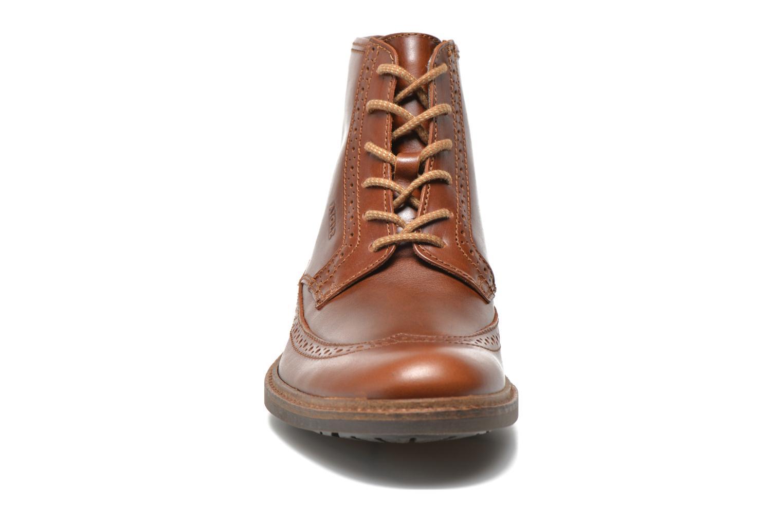 Bottines et boots Aigle Britten Brg Md Marron vue portées chaussures