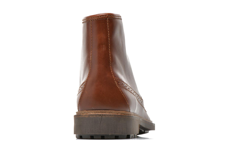 Bottines et boots Aigle Britten Brg Md Marron vue droite
