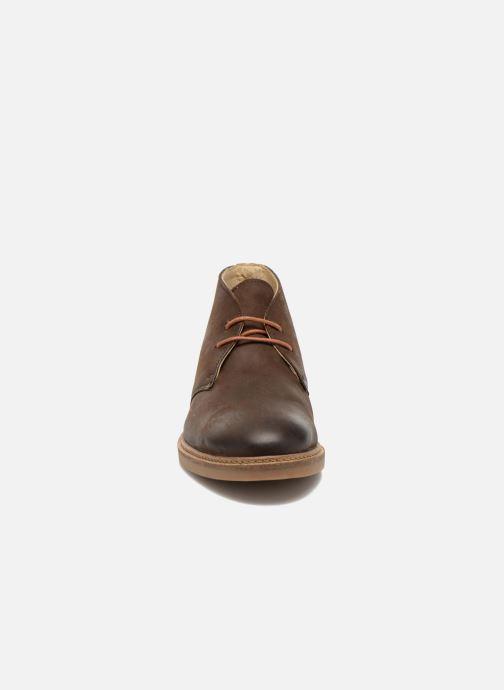 Lace-up shoes Aigle Dixon 2 Brown model view