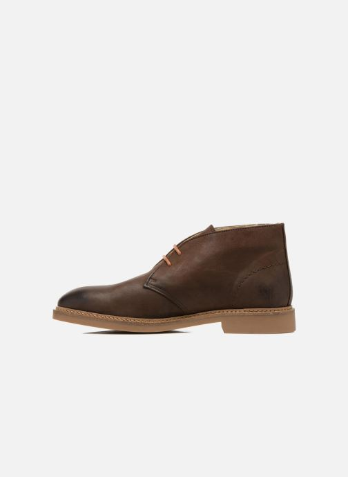 Lace-up shoes Aigle Dixon 2 Brown front view