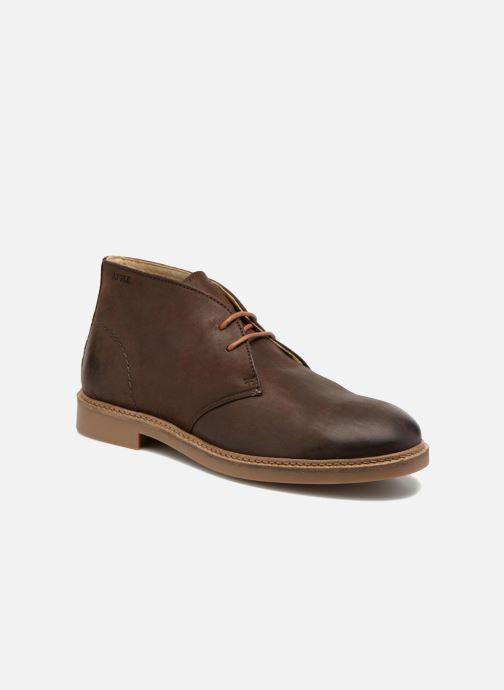 Lace-up shoes Aigle Dixon 2 Brown detailed view/ Pair view