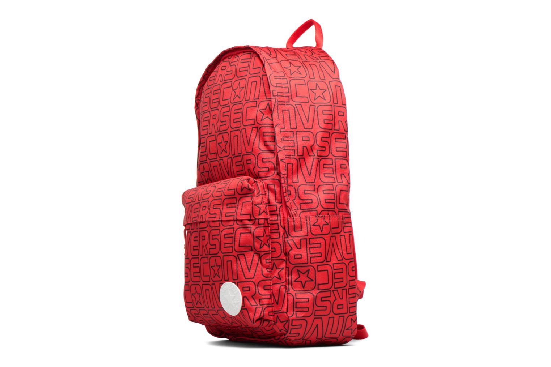 Ryggsäckar Converse Core Poly Backpack M Vinröd bild av skorna på